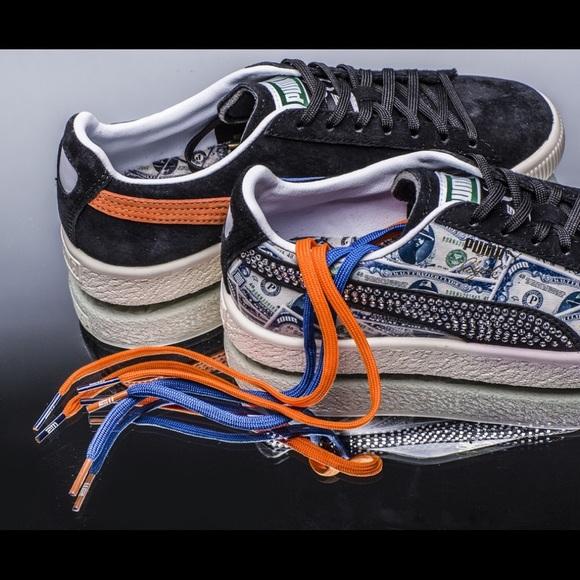 441b25434487 MITA X PUMA Clyde 1000  Bill Sneakers M 7  W 8.5. M 5b20898c34a4efbefd01f142